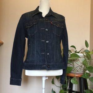 Women's Levi's Trucker denim jacket large NWT